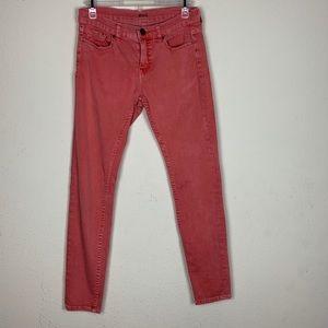 BDG- Orange Midrise Twig Ankle Pants size 28